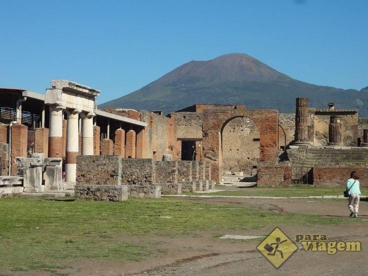 Roteiro de Visita às Ruínas de Pompeia na Itália - Para Viagem