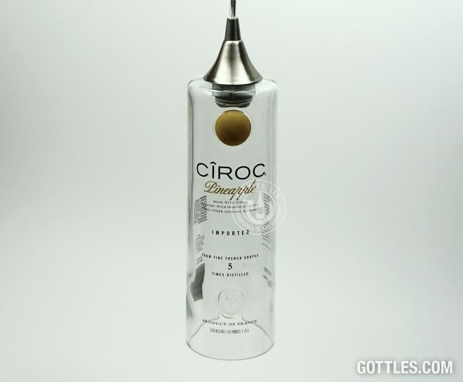 Ciroc Pineapple Vodka Pendant Lamp CXL | Gottles