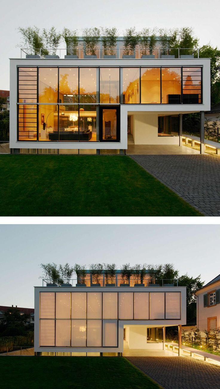 CHRIST.CHRIST.Architects have designed House R, a 4-storey house for a family in Karlsruhe, Germany.