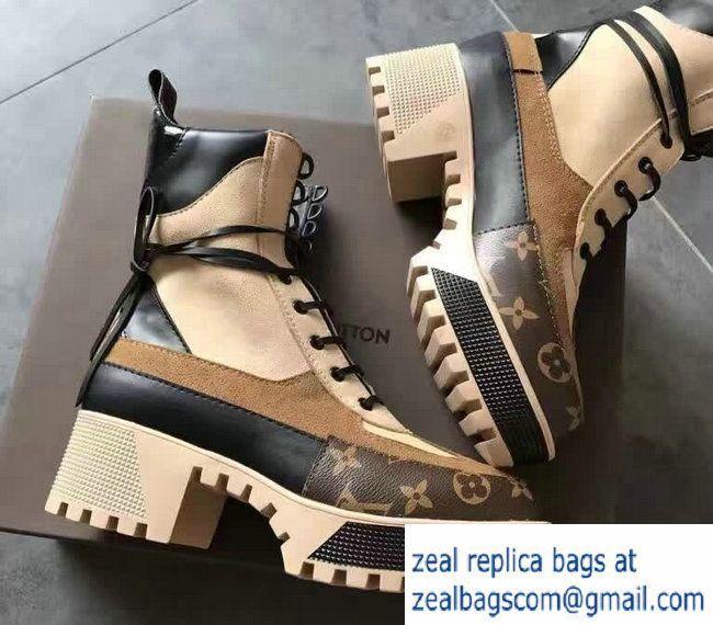 Louis Vuitton Laureate Platform Desert Boots 1A21T0 2016