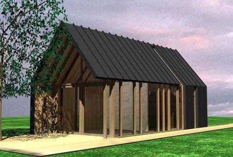 Nieuwbouw gastenverblijf / tuinhuis, Bergen (NH) - studio72
