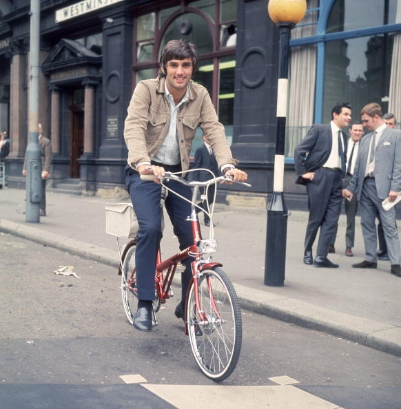 Manchester United star George Best.