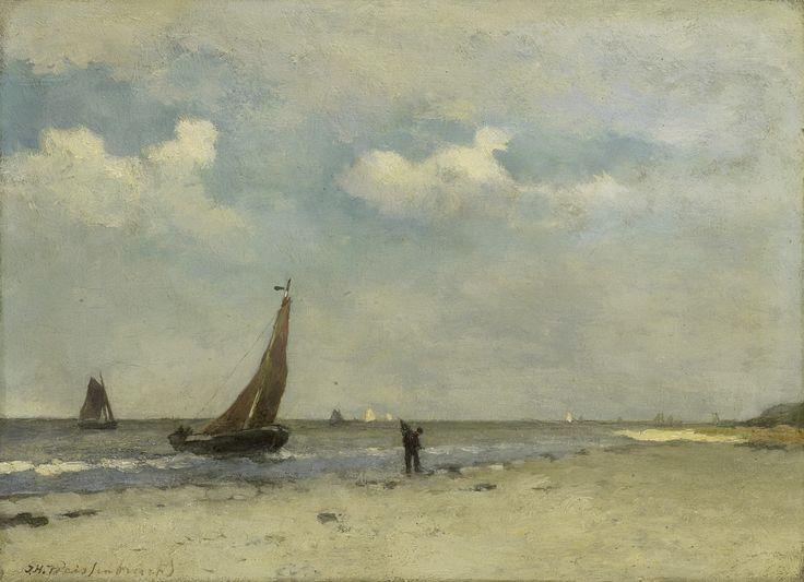 Jan Hendrik Weissenbruch - Strandgezicht 1887