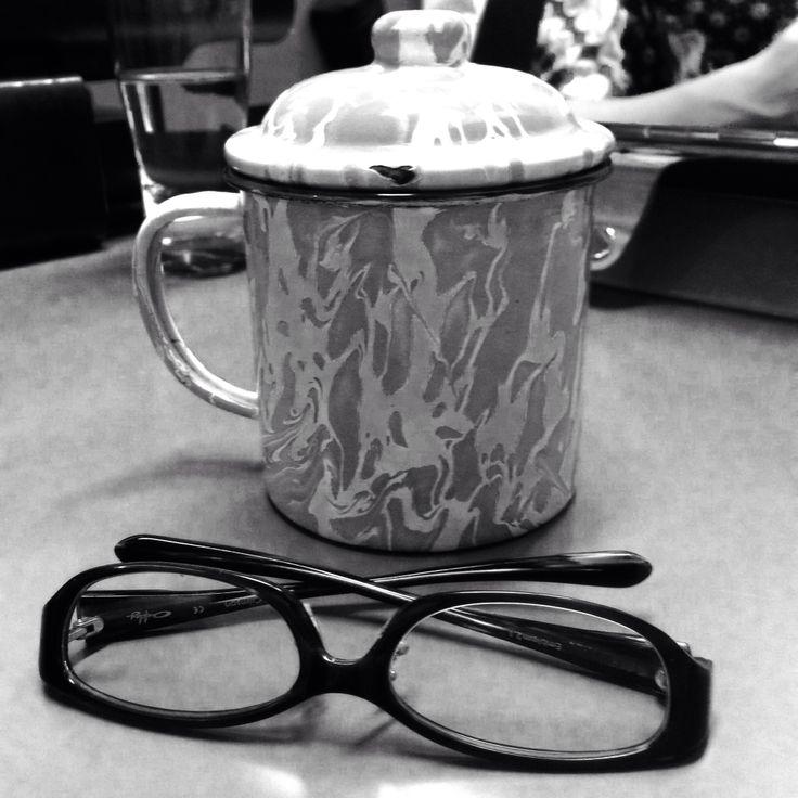 Glasses Journey of Javanese Vintage Mug