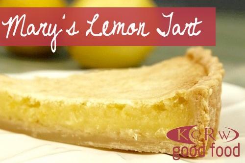 Lazy Mary's Lemon Tart... | recipes | Pinterest