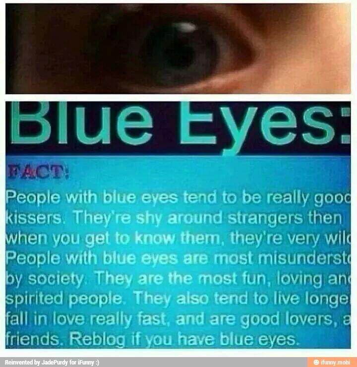 Blue eyes fact | FACT'S -- WTF FACT'S | Pinterest