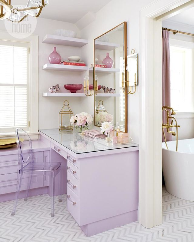 Bedroom Design And Decoration Interior Design Bedroom Dressing Table Bedroom Paint Colors 2015 Small Bedroom Design With Desk: 25+ Best Ideas About Lilac Bathroom On Pinterest