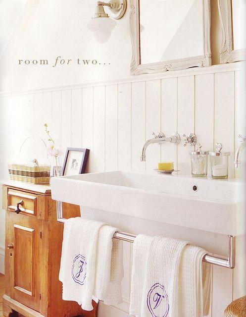Lavabos Et Vasques Tunisie: Meuble salle de bain blanc ...