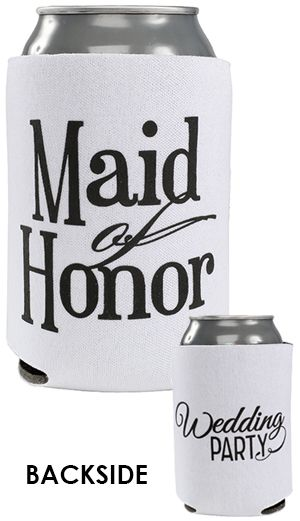 Personalized Wedding Can Coolers Are Perfect Favors For Your Day