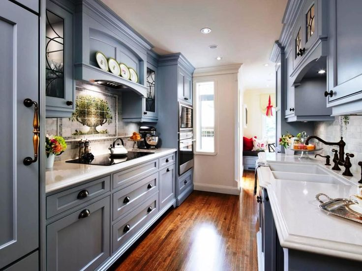 Galley Kitchen Designs best 25+ galley kitchen layouts ideas on pinterest | galley