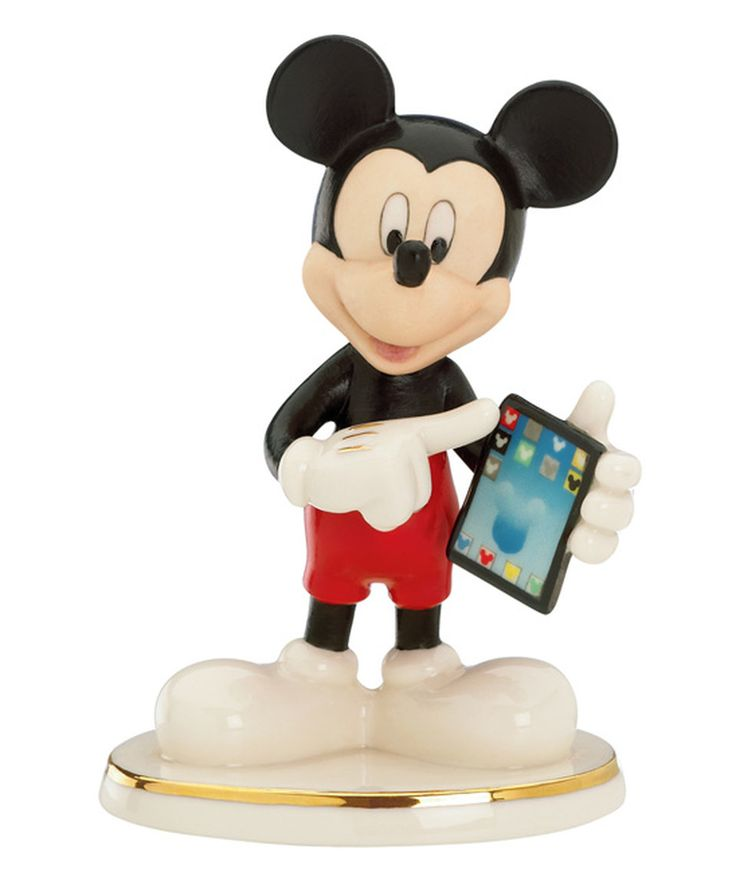 Look what I found on #zulily! Cyber Chat with Mickey China & 24k Gold Figurine by Lenox #zulilyfinds