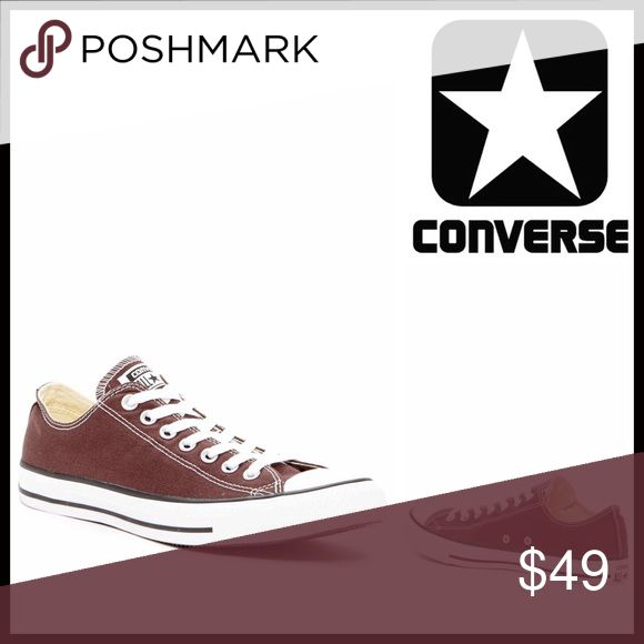 CONVERSE SNEAKERS CONVERSE SNEAKERS Stylish Oxford Sneakers  SIZING- Unisex, women's sizes are shown   COLOR- Burnt Umber, white, black stripe  ABOUT THIS ITEM * Rubber cap toe * Lace-up closure * Logo detail * Black stripe outsole accent * Topstitch seaming  MATERIAL Textile upper & linining, rubber sole  ❌NO TRADES❌ ✅BUNDLE DISCOUNTS✅ OFFERS CONSIDERED (Via the offer button only) ITEM#   SEARCH WORDS # all star Chuck Taylor Converse Shoes Sneakers
