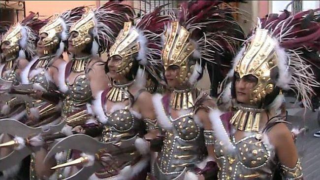 moors and christians grand parade Benitachell / El Poble Nou de Benitatxell