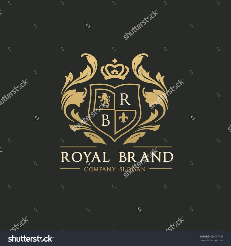 gold wedding crest royal logo - Google Search