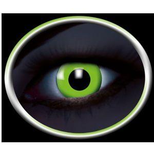 Grønne UV Kontaktlinser, Selvlysende kontaktlinser. #kontaktlinser #lenses