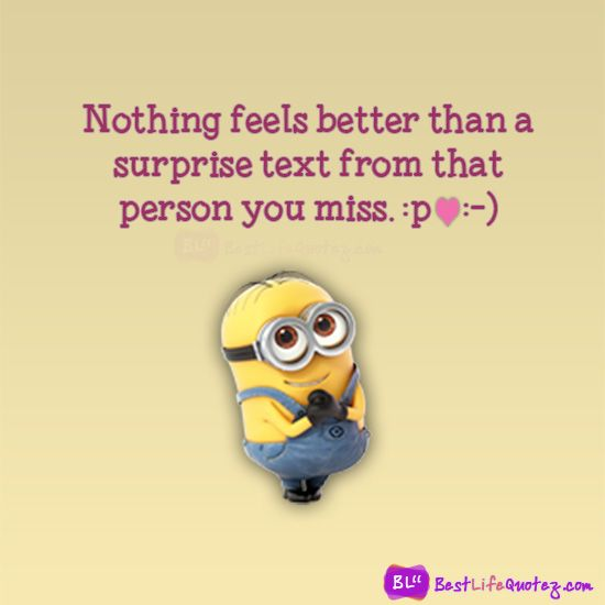 Cute Minion Love Words FB Pictures For Facebook Profile