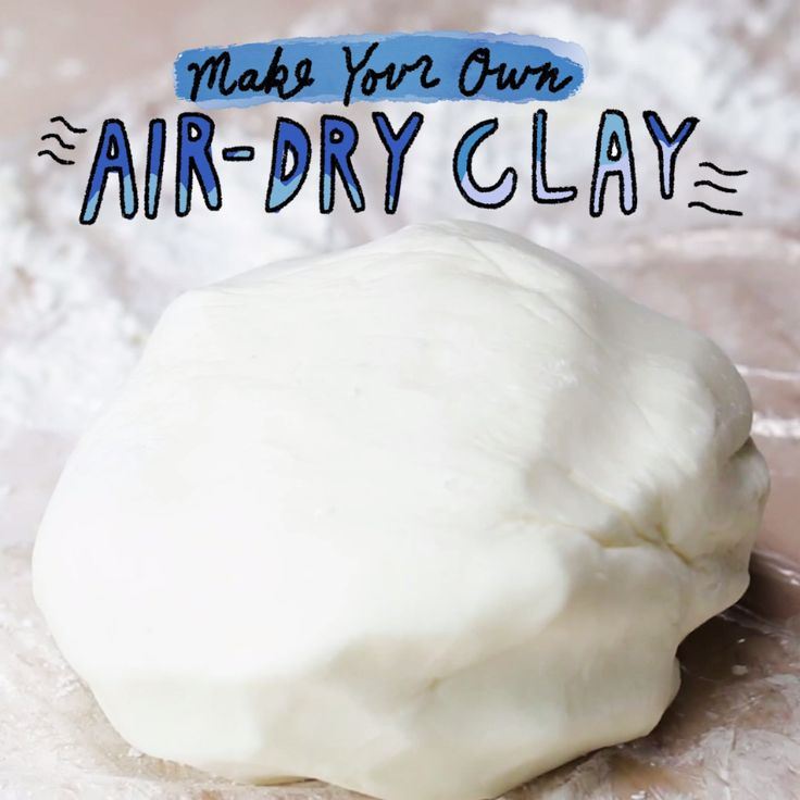 Make Your Own Air-Dry Clay