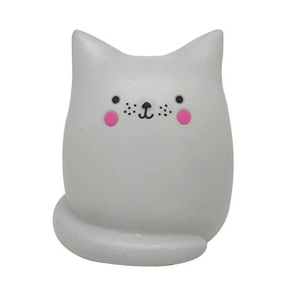 Inspirational Veilleuse lampe chat Kawaii LED house of disaster