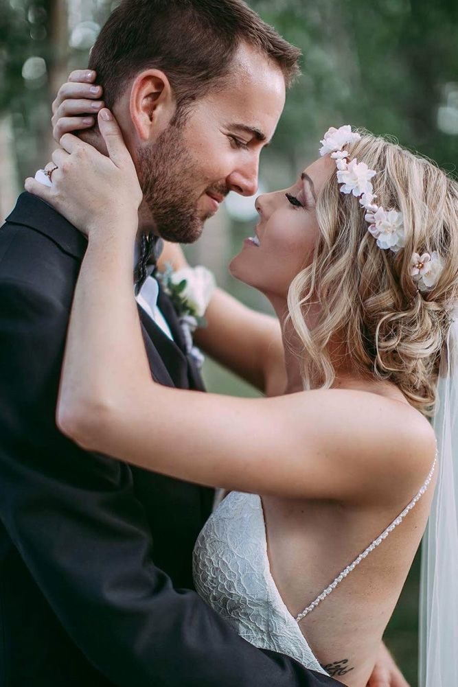 24 Romantic Wedding Photo Ideas ❤ romantic wedding bride and groom tender temptation eternal reflections photo ❤ See more: http://www.weddingforward.com/romantic-wedding/ #wedding #bride #romanticwedding