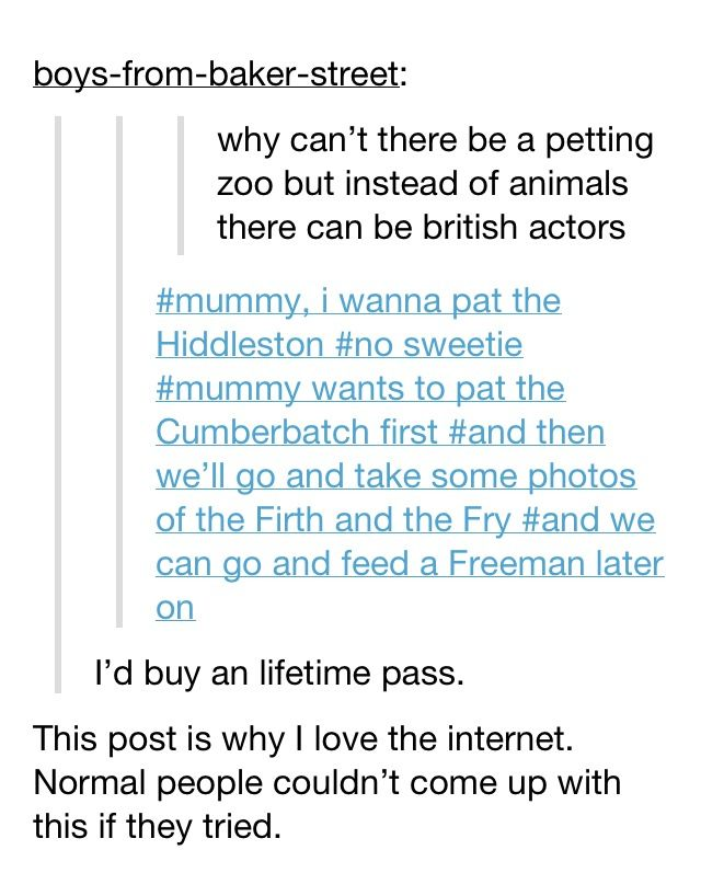 Oh how I love British actors. And Tumblr. #Tom Hiddleston I love this