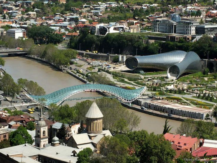 Panorama dal Castello - Tbilisi, Georgia by Oliviero Masseroli