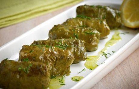Αμπελόφυλλα γεμιστά | Cretan Food News