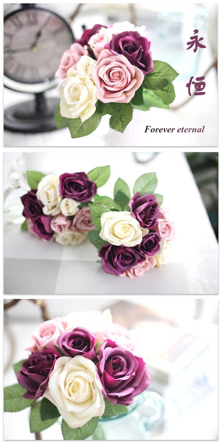 45 Best Silk Flower Images On Pinterest Artificial Flowers Art