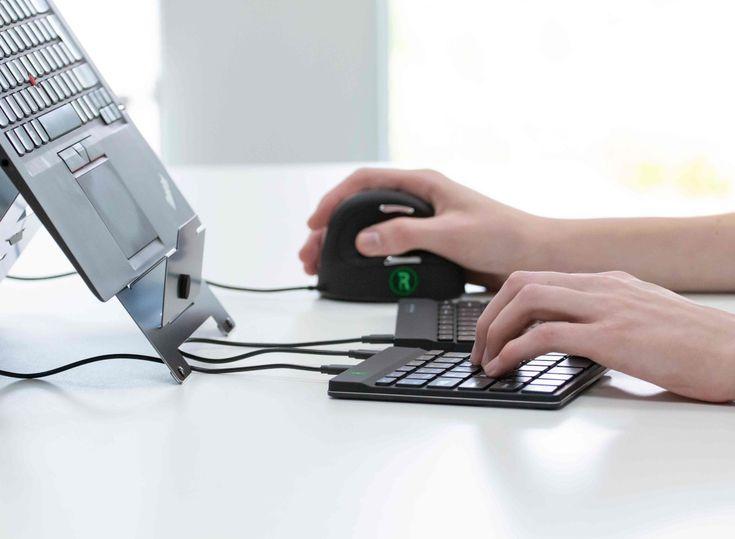 Der Online Shop monitorhalterung.de bietet optimierte Tastaturen und Mäuse für… Der Online Shop <a href=