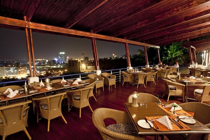 Fiamma Restaurant terrace view