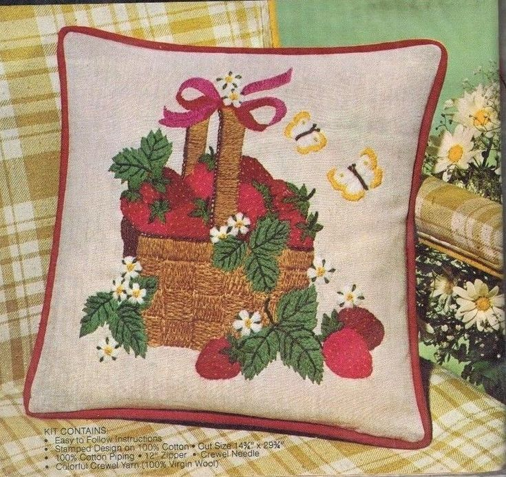 109 Best Crewel Embroidery Images On Pinterest Embroidery