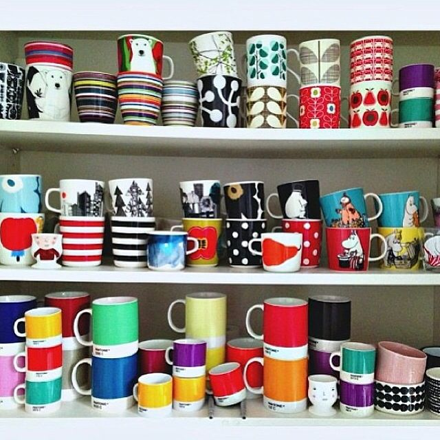 my kind of mug collection!!  Little Big Bell