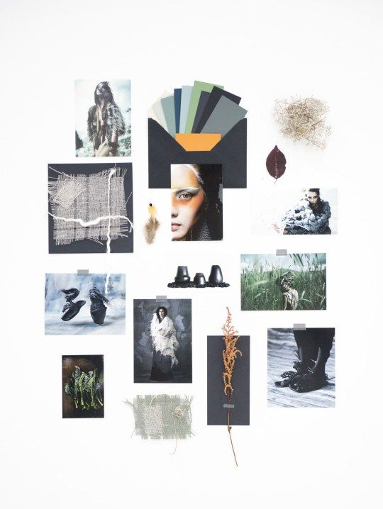 My September Mood Board - Eclectic Trends/ Archaic trends AW 2017/18