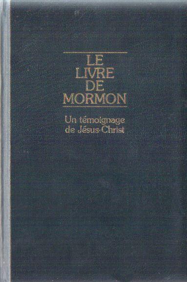 couverture LE LIVRE DE MORMON