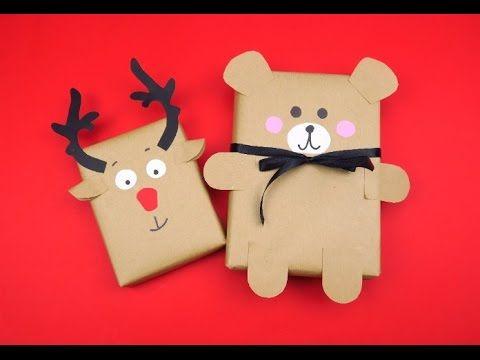 Come incartare un regalo per Natale: le idee semplici e speciali - YouTube