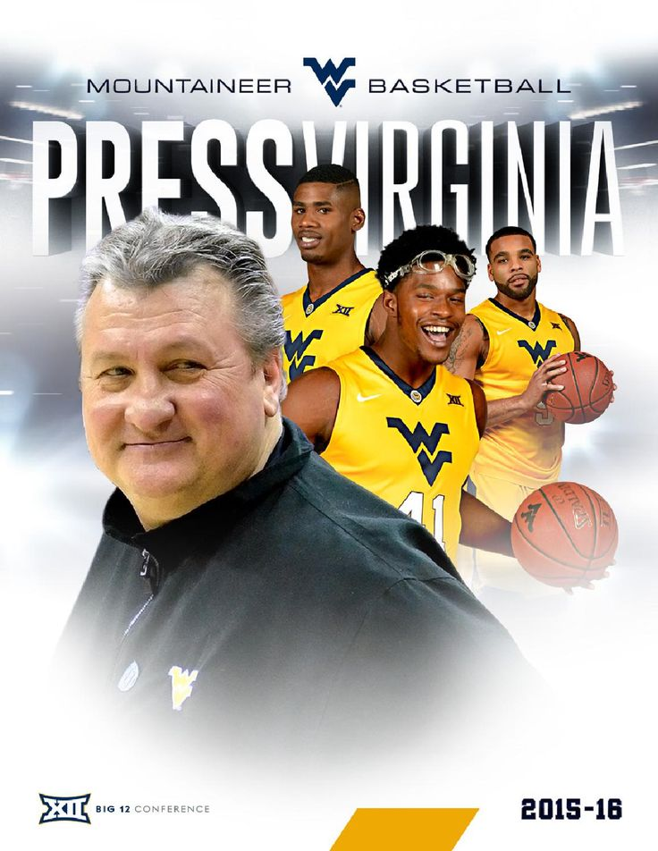 2015-16 WVU Men's Basketball Guide