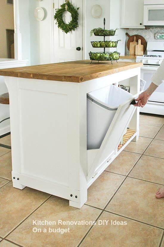 DIY Kitchen Renovations and Makeovers Ideas on a Budget