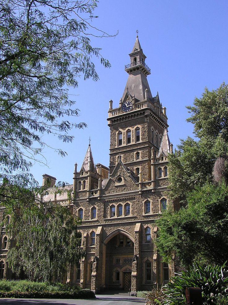 ormond college. melbourne university.  (australia)