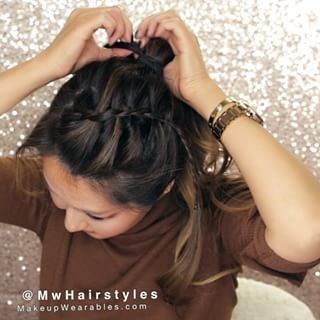 Remarkable 1000 Ideas About Hairstyle For Girls Video On Pinterest Feather Short Hairstyles Gunalazisus