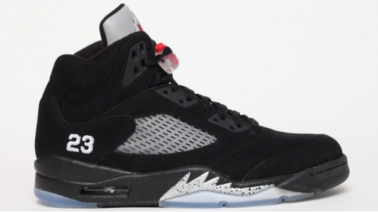 Buy Cheap Nike Air Jordan 5 Retro Suede Shanghai Shen Black Yell