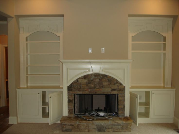 Entertaining Built In Cabinets Next To Fireplace and built in ...