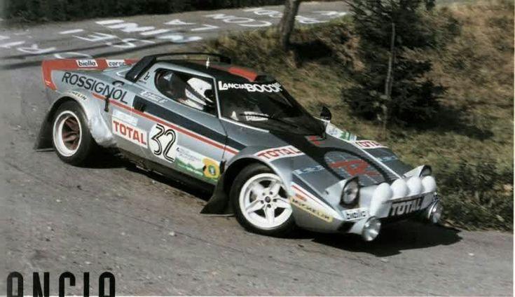 Lancia Stratos Bagna Gatti Lana 81