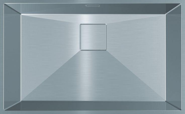 Franke PURE PUX 110-70, Bowl size: 700 x 420 x 180mm/44L