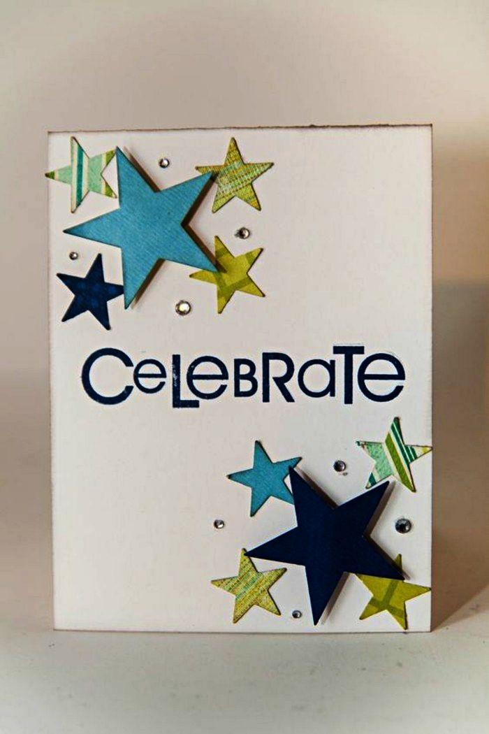 faire une carte d anniversaire personnalisée ▷ 1001 + idées pour une carte d'anniversaire à faire soi même