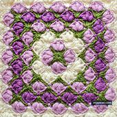 Ravelry: 4033 Crochet Square pattern by MYpicot