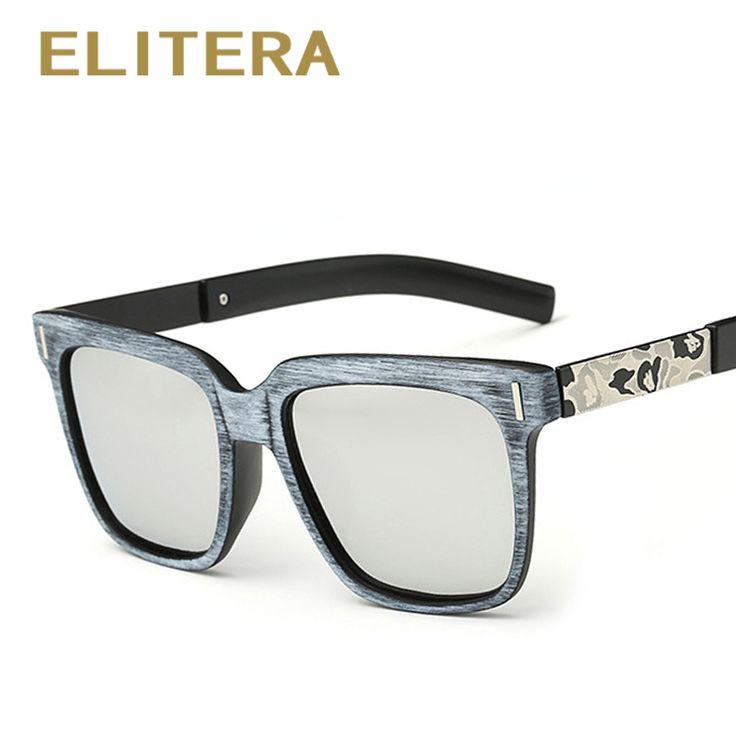 ELITERA Square Sun glasses for Men Black Sunglasses 2017 New Fashion Vintage Women Brand Designer Square Sun Glasses UV400
