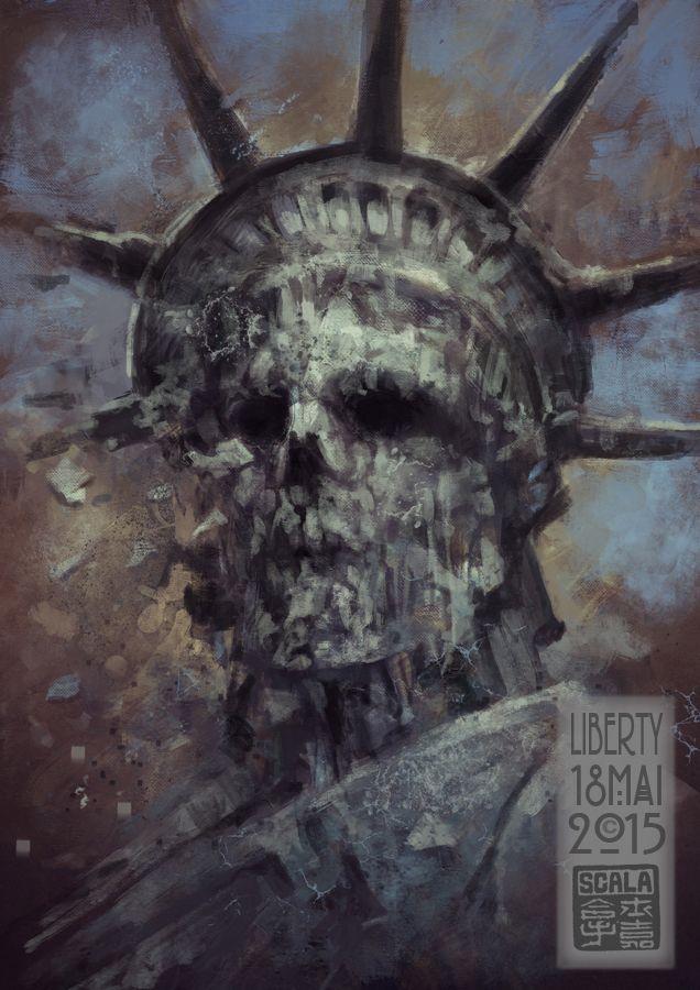 Scary Liberty!