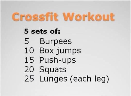 Easy Cross For Workout For Beginners