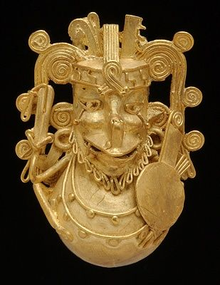37 best Aztec gold treasures images on Pinterest | Antique ...