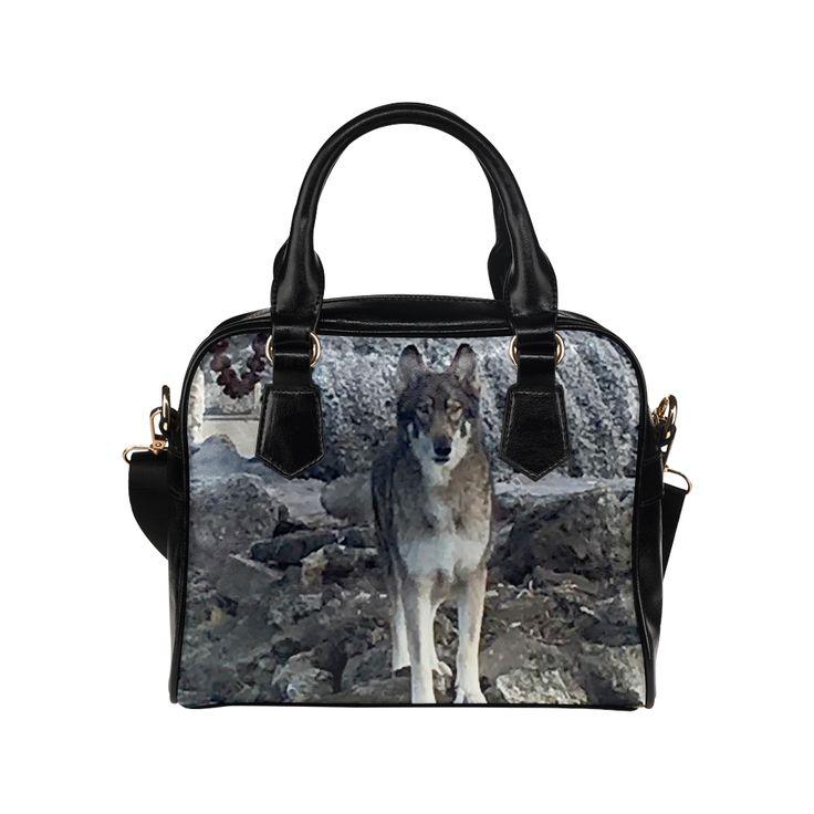 Dog German Shepherd Shoulder Handbag. FREE Shipping. #artsadd #handbags #dogs