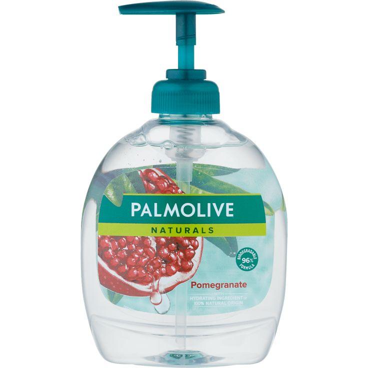 1 Voor 1 Palmolive Pure Liquid Hand Soap Pomegranate Liquid